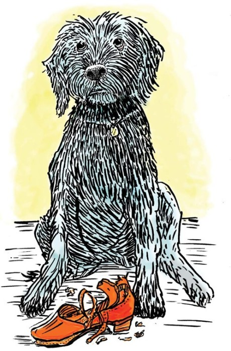 Pavlov, drawn in ink, colored in Photopshop @2010 Kevin McCloskey