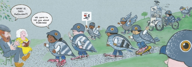 pigeonspread