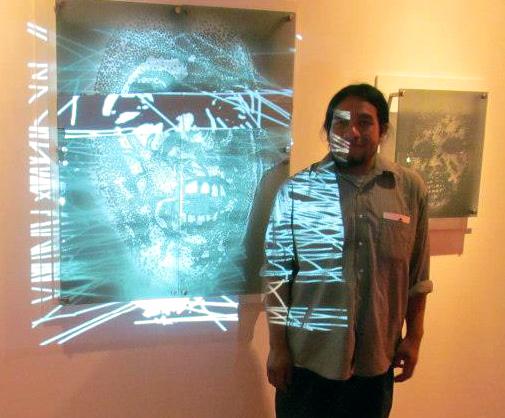 César Chávez, photo  courtesy of Gorilla Gallery