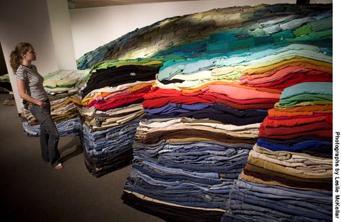 A prior clothing installation from jarodchazewski.com