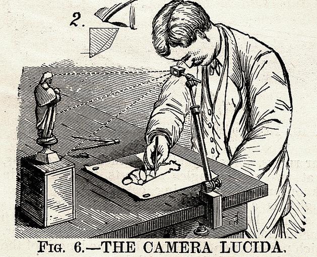 camera lucida | Illustration Concentration