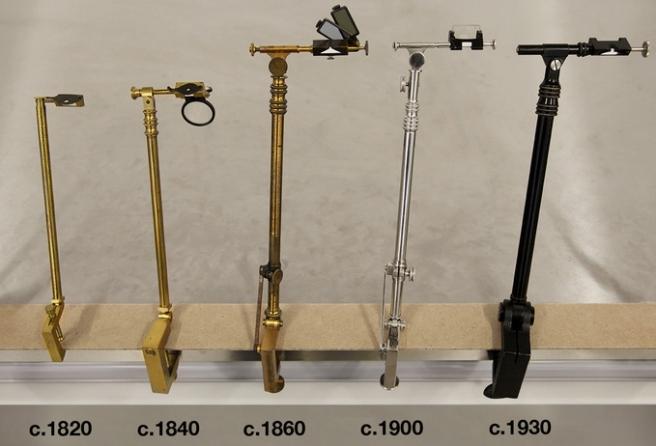 Prof. Pablo Garcia's collection of camera lucidas.