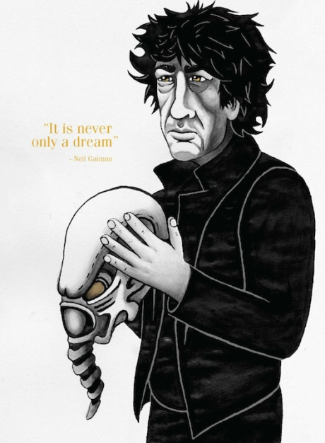 Neil Gaiman © Ryan Bittle