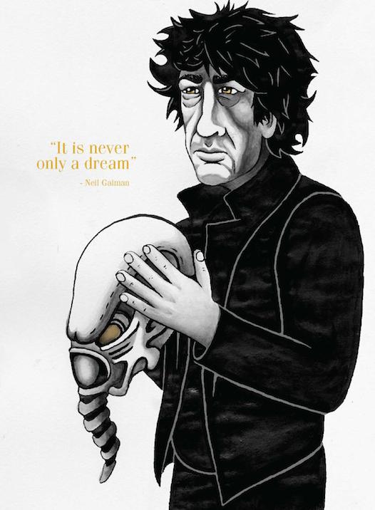 Neil Gaiman © Ryan Bittle