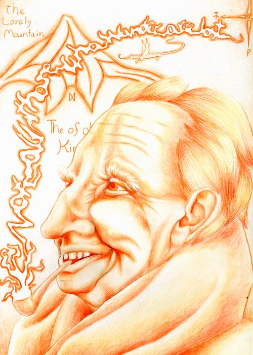 J.R.R. Tolkien © Tessa Ports