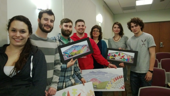 KU CD Mural Design Team