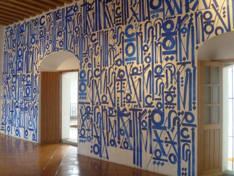 Art by Retna, 2013 Acrylic.