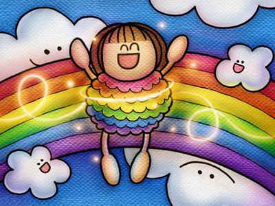 """Be a Rainbow"" detail © Amanda Geisinger"