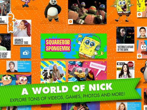 Nick app screenshot.