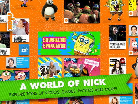 Nick app screenshot.