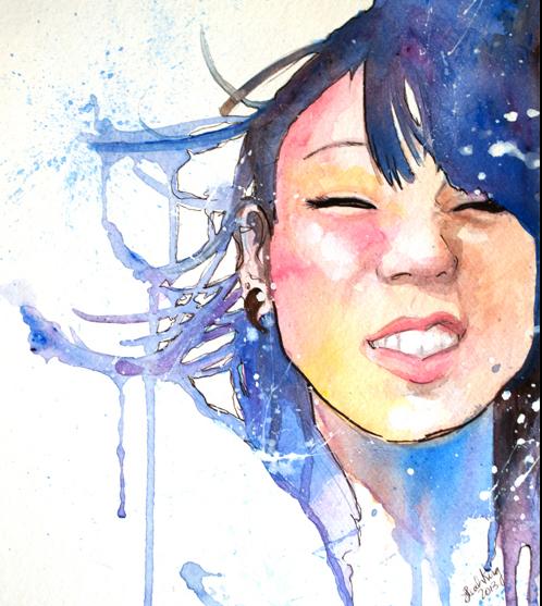 Portrait of Azuka ©Leah King at KTL Cigars.