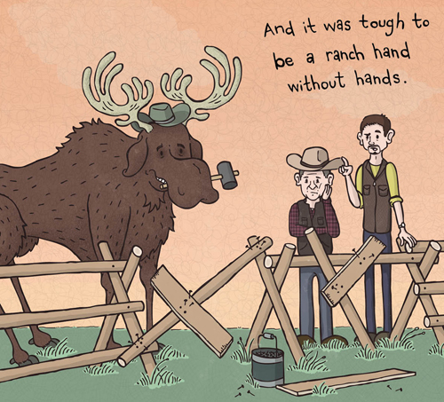 Willie as Ranch hand by Maddy O'Neil.