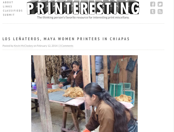 My photos and story of my visit to Los Leñateros at printeresting.org