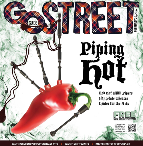 This week's Go Street, cover design by Jessyca Pacheco