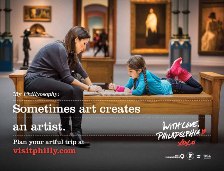 Image from the Phillyosophy campaign from visitphilly.com