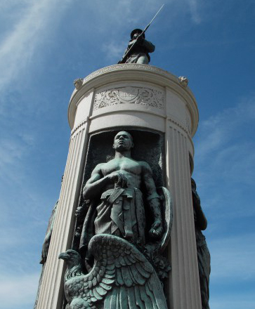 Victory Monument, Chicago, courtesy Jack Foley.