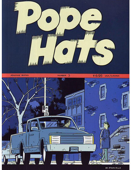 Pope Hats #3 © Ethan Rilly