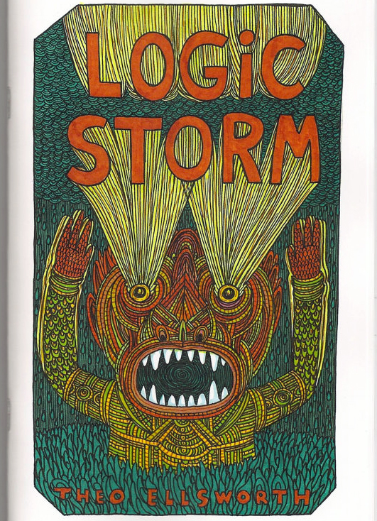 Logic Storm, zine, ©2013 Theo Ellsworth