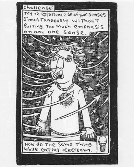 From 'Imaginary Homework' © 2103 Theo Ellsworth