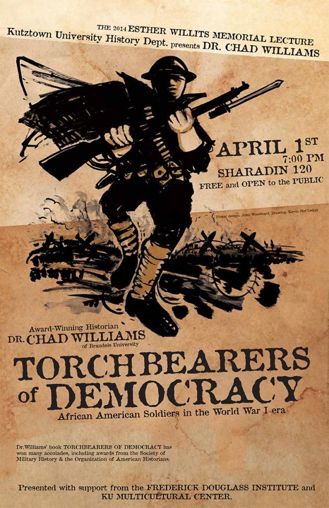 Poster design by KU CD student John Woodward