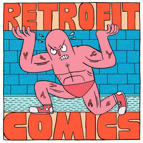 Sticker by Retrofit Comics artist Jack Teagle.