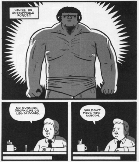 From Andre the Giant © Box Brown