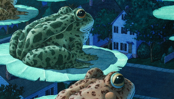 Detail from Tuesday © by David Wiesner