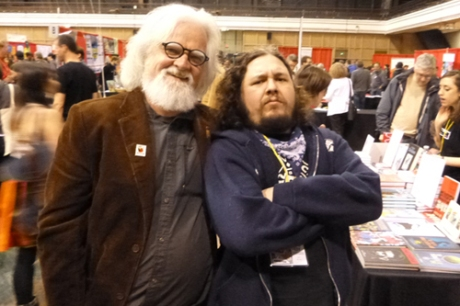 Kevin McCloskey meets Box Brown at MOCCA Fest, 2014