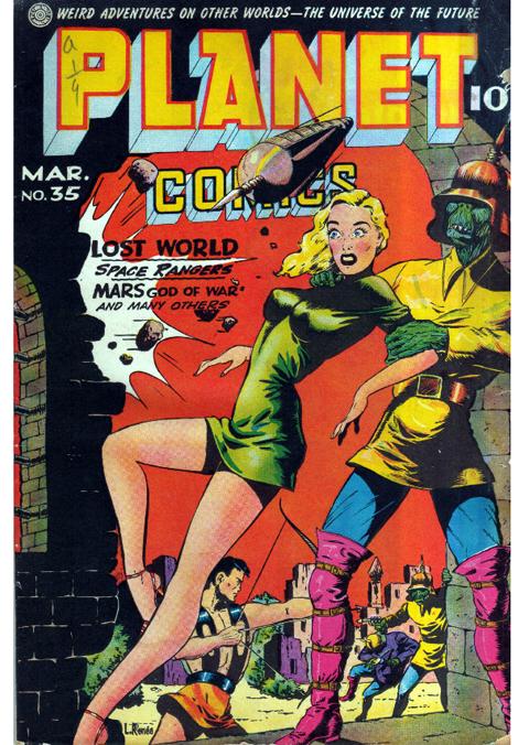Comic Art by Lily Renée, learn more at TrinaRobbins.com