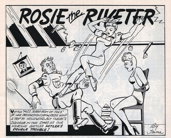 Rosie the Riveter © Trina Robbins