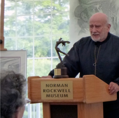 Murray Tinkelman awarded the Rockwell Artist Laureate Award.