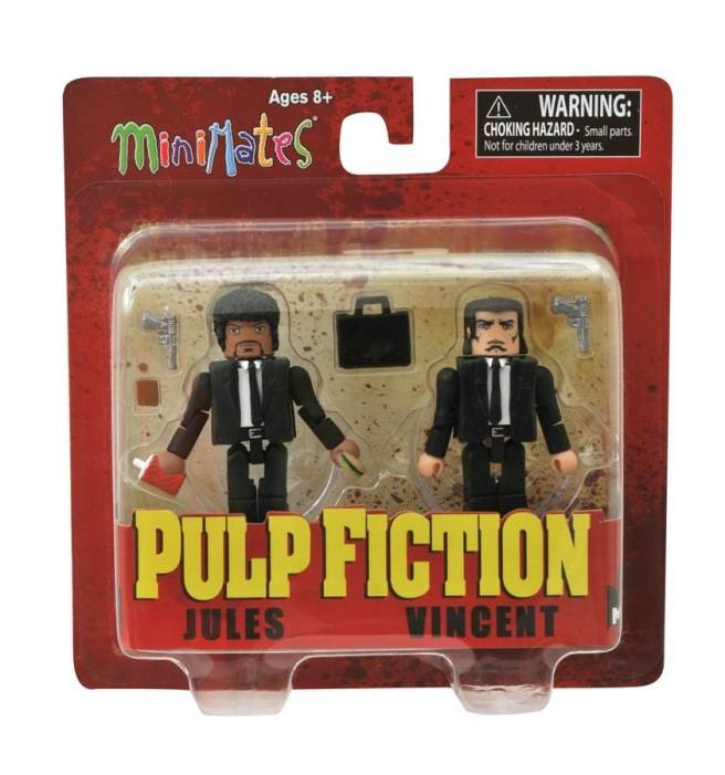Pulp Fiction is not for Children under 3, -Choking Hazard.