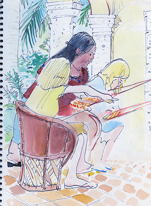 The Weaving Teacher, Oaxaca.
