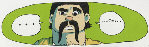 panel from the story Culture Vultures by Cody Myers, Brainbug issue !.