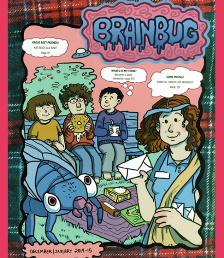 Cover of BRAINBUG, issue 1.