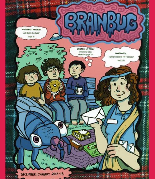 Cover of BRAINBUG, issue 1.