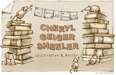 Launch page for her website at: www.geigersheeler.com