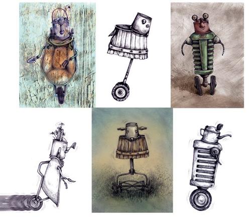 Barnyard creatures © 2011 Cheryl Sheeler