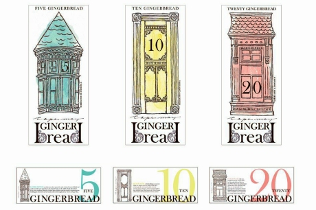 Concept for Cape May, NJ, local currency.© Cheryl Sheeler.