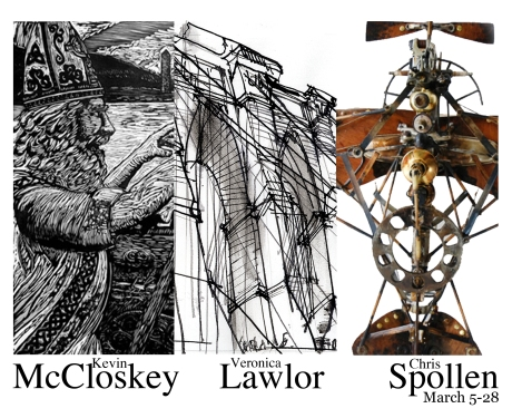 AFA Gallery announcement, Opening March 6, Scranton, PA.