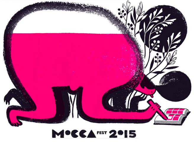 MoCCA Fest Poster by Eleanor Davis