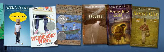 Young Adult Novels by Gary D. Schmidt.