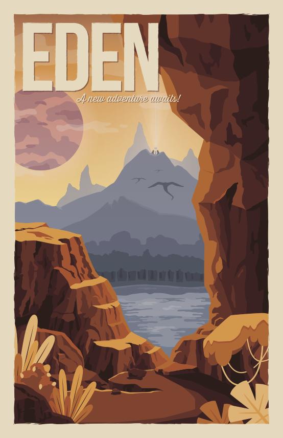 Eden Poster © 2015 Arren Dawinan