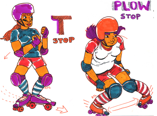 T-Stop and Plow Stop, from Fresh Meat ©2012 Robin Tatlow-Lord