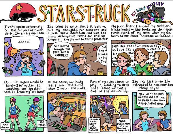 Starstruck (detail) ©2105 Lucy Knisley