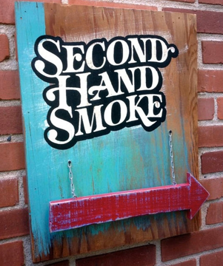 Second-Hand Smoke © Brian Barto