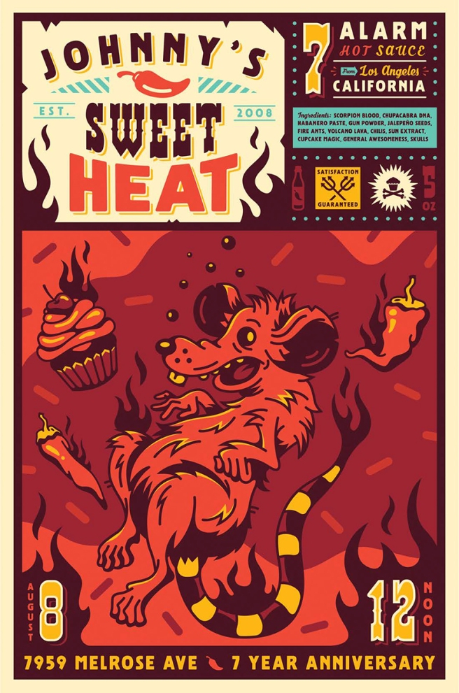 Johnny's Sweet Heat © Corey Reifinger