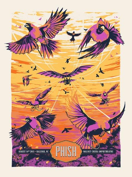 Phish gig poster© Ryan Lynn
