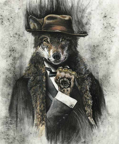 Big Bad Wolf © by Austin