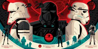 Tom Whalen's collector tix for Rogue One